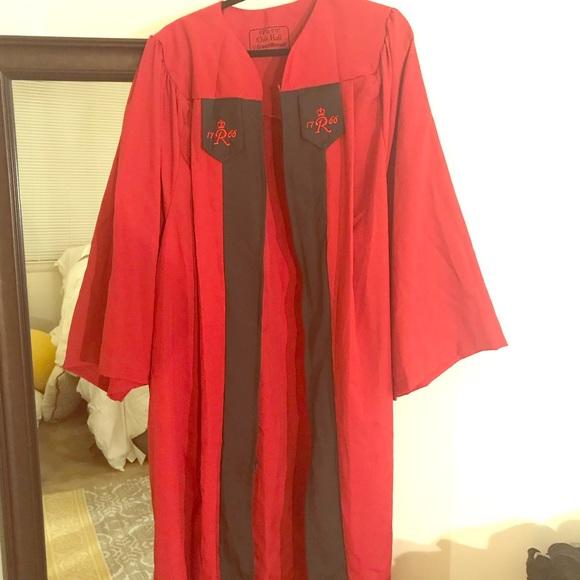 68% off Other Rutgers University Sas Graduation Gown | Poshmark